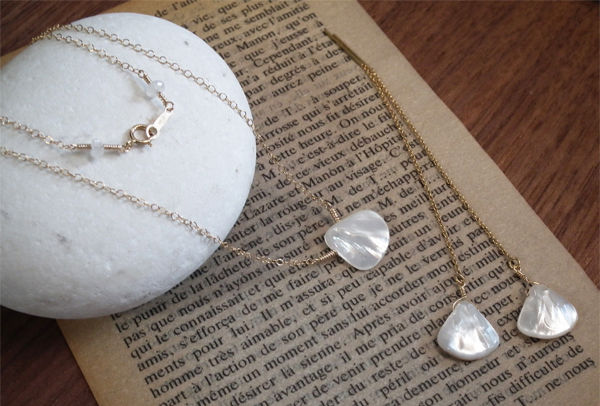 shell - white -